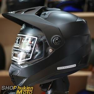 Mũ bảo hiểm Off Road- cào cào HJC DS-X1 (Đen nhám) (Size: M/L/XL)