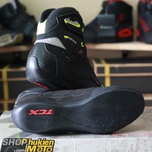 Giày moto TCX 9505W (Đen/Vàng) (hàng chính hãng) (chống nước)