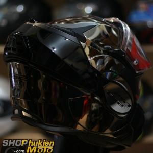 Mũ bảo hiểm Lật Cằm LS2 FF399 Valiant chrome (Size: M/L/XL)