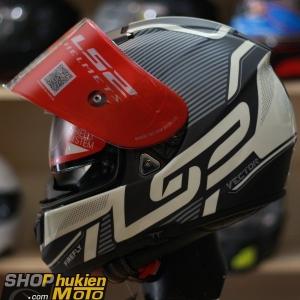 Mũ bảo hiểm Fullface LS2 Vector FF397 (ORION MATT BLACK) (Size: M/L/XL/XXL)