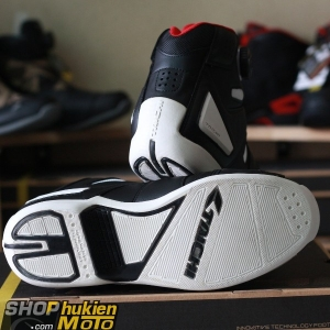 Giày moto TAICHI RSS006 (Đen trắng) (hàng chính hãng)