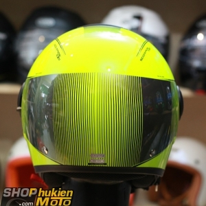 Mũ bảo hiểm 3/4 scorpion exo 83 city wind (đen vàng bóng) (Size: M/L/XL)