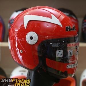 Mũ bảo hiểm 3/4 HJC HO-11 (đỏ bóng)