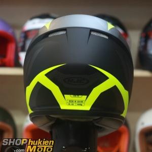 Mũ bảo hiểm fullface HJC CS-15 Treague MC4HSF (đen vàng xám nhám) (Size: M/L/XL)