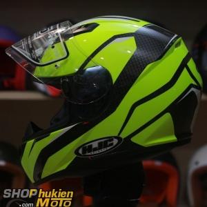 Mũ bảo hiểm Fullface HJC CS-15 Sebka MC4H (Vàng trắng/ đen bóng) (Size: M/L/XL)