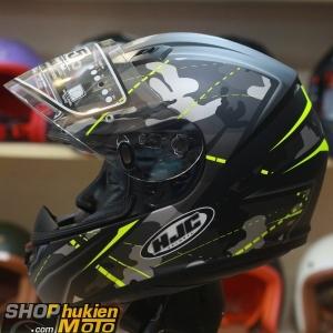 Mũ bảo hiểm fullface HJC CS-15 Songtan MC4HSF (đen vàng xám nhám) (Size: M/LXL)