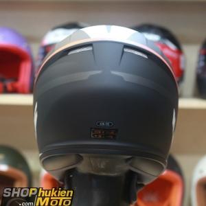 Mũ bảo hiểm fullface HJC CS-15 Space MC7SF (Đen trắng cam nhám) (Size: M/L/XL)