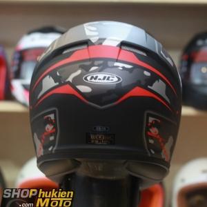Mũ bảo hiểm fullface HJC CS-15 Songtan MC1SF (đen đỏ xám nhám( (Size: M/L/XL)