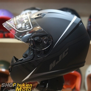 Mũ bảo hiểm fullface HJC CS-15 Space MC5SF (đen trắng xám nhám) (Size: M/L/XL)