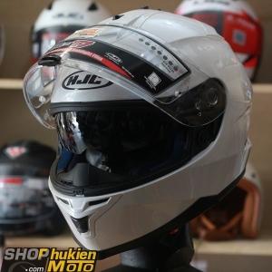 Mũ bảo hiểm HJC IS-17 (Trắng bóng) (size:M/ L/XL)