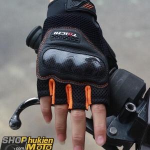 Găng tay taichi RST405 (đen/cam) (Size: S/M/L/XL/XLL)