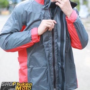 Áo mưa bộ Givi RRS07.AX-GR (xám/đỏ) (SIZE: S/M/L/XL/XXL)