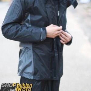 Áo mưa bộ Givi RRS07.AX-NG (Đen/xám) (SIZE: S/M/L/XL/XXL)