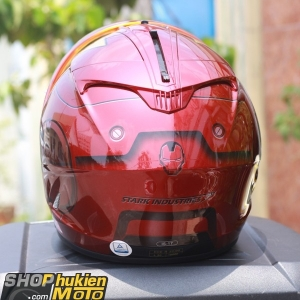 Mũ bảo hiểm HJC Fullface IS-17 Iron Man (Size: M/L/XL)