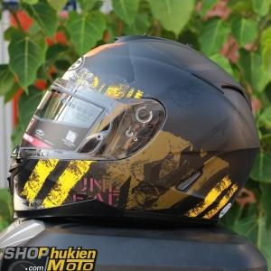Mũ bảo hiểm HJC IS-17 Shapy (Đen xám vàng nhám) (size: M/L/XL)