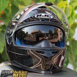 Mũ bảo hiểm HJC IS-17 ORDIN (Xanh Ngọc) (size: M/L/XL)