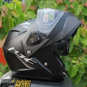 Mũ Bảo Hiểm Lật Cằm HJC IS -Max II Dova (Đen trắng nhám) (size: M/L/XL)