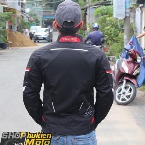 Áo bảo hộ Taichi RSJJ19 (Taichi Jackets) (đen sọc đỏ) (size: M/L/XL)