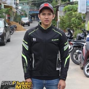 Áo bảo hộ Taichi RSJJ19 (Taichi Jackets) (đen sọc Neon) (size: M/L/XL)