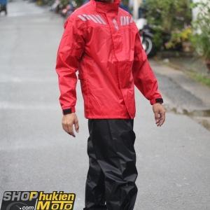 Áo mưa bộ GIVI RRS04.AX-R (đỏ/đen) (Size: S/M/L/XL/XXL/ XXXL)