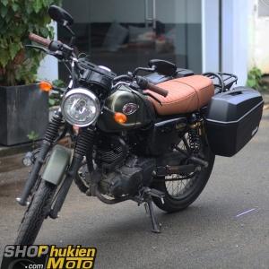Thùng hông GIVI E22N-S (có đèn) xe Kawasaki W175