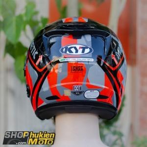 Mũ bảo hiểm 3/4 KYT VENOM (MIMETIC RED GLOSS) (Size: L/XL)