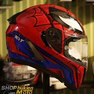 Non KYT Falcon Spider man ( Size: M,L,XL,2XL )