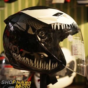 Non 3/4 KYT Venom (Size: L/XL)
