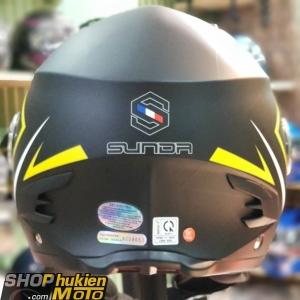 Nón Sunda 617 ( Đen vàng size L,XL)