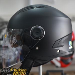 Nón Sunda 617A 2 kính ( Đen nhám size L,XL)